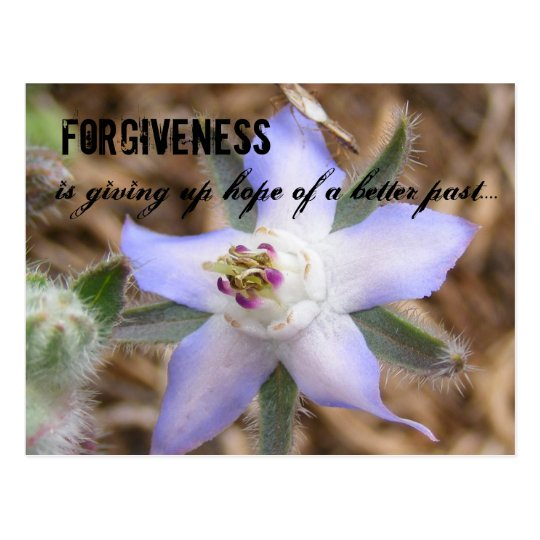 FORGIVENESS, is giving up hope of a b
