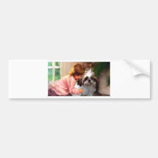 forgiveness_Paintingcropped jpg Bumper Sticker