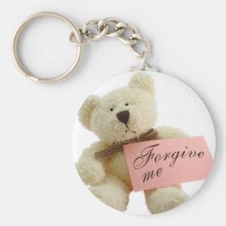 forgiveness teddy key chain