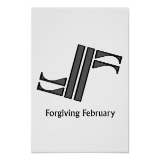 Forgiving February Poster