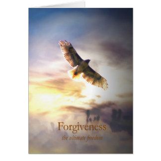 Forgivness for Healing, Metaphysical Holistic Card