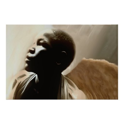 Forgotten Angels of Haiti - Painting on CANVAS Poster