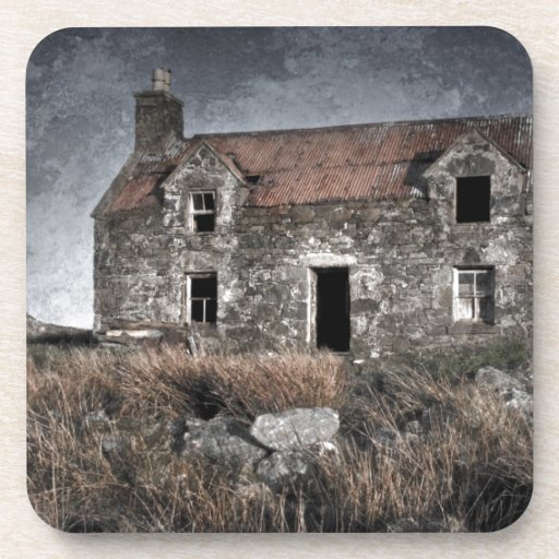 Forgotten house coaster