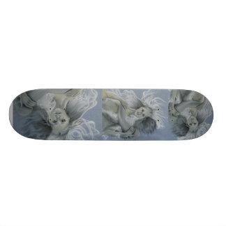 Forgotten Summer Mermaid Couple Skateboard