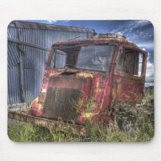 Forgotten truck mouse mat