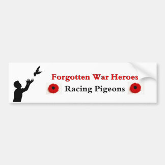 Forgotten War Heroes Bumper Sticker