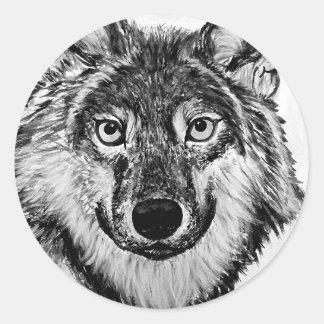 forheatwolf.jpg round sticker
