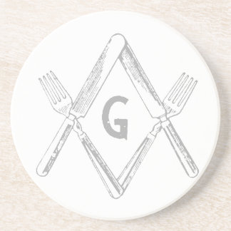 Fork and Knife Coaster