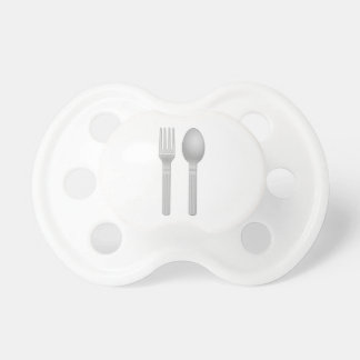 Fork and Spoon Baby Pacifiers