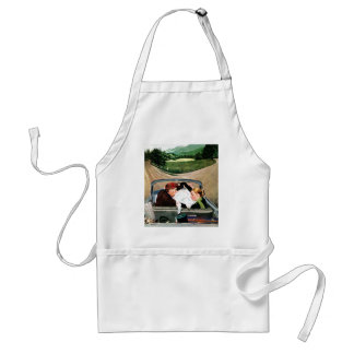 Fork in the Road Standard Apron