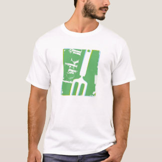 Fork it - solid background T-Shirt
