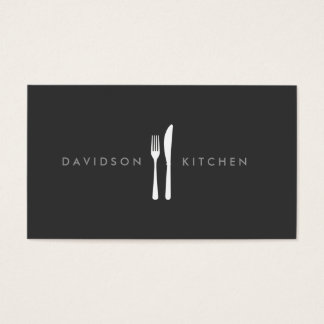 Fork & Knife Logo 2 for Chef, Foodie, Restaurant