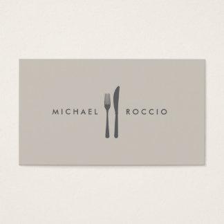 Fork & Knife Logo for Chef, Foodie, Restaurant