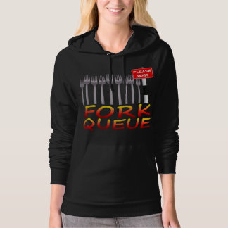 Fork Queue Hoodie (any colour)