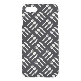 Fork spoon knife pattern iPhone 8/7 case