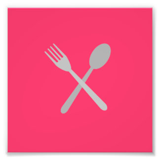 Fork & Spoon Photo Art