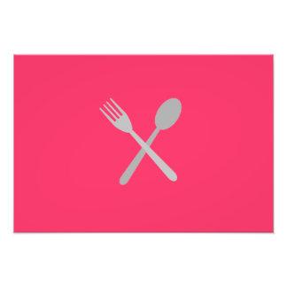 Fork & Spoon Photo Print