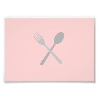 Fork & Spoon Photograph