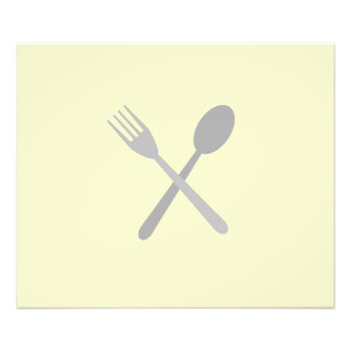 Fork & Spoon Photographic Print