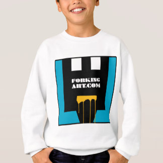 Forking Art.com Blue Logo Sweatshirt