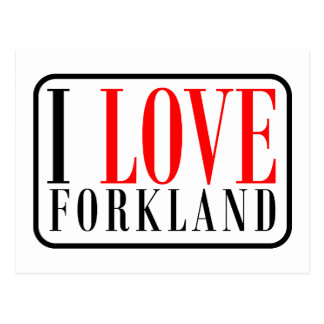 Forkland Alabama Postcard