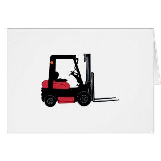 Forklift Card