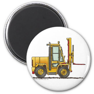 Forklift Truck Construction Magnets