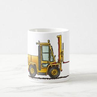 Forklift Truck Construction Mugs