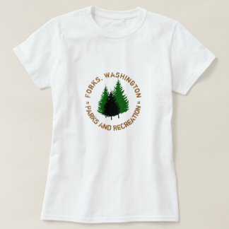 Forks, Washington Parks And Recreation Shirt