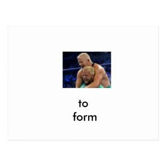 form postcard