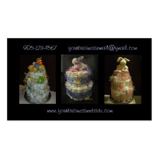 Formal Diaper Cakes Business Card