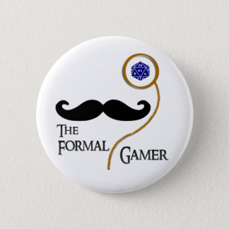 Formal Gamer Badge Pin