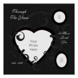 Formal Heart Scrapbook Page Poster