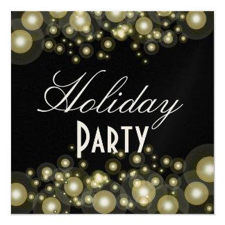 Formal invitations, champagne bubbles 13 cm x 13 cm square invitation card
