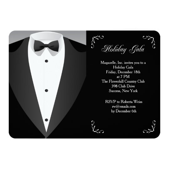 Formal Occasion Holiday Gala Invitation
