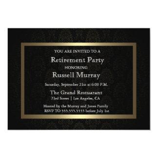 Formal Retirement Party Invitation
