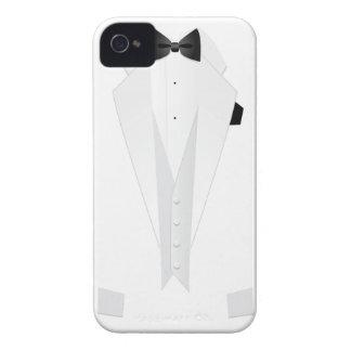 Formal White Mens' Tuxedo Suit Case-Mate iPhone 4 Case