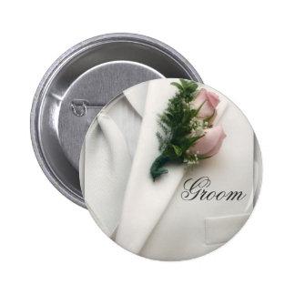 Formal White Tuxedo Button