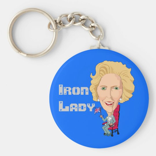 Former British Prime Minister Iron Lady THATCHER Key