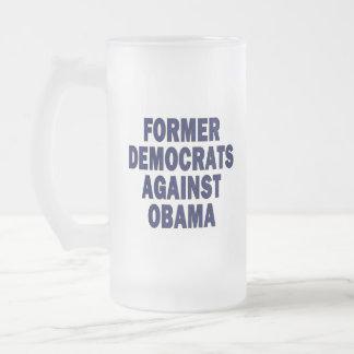 Former Democrats against Obama Mug