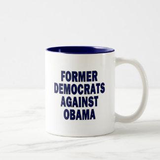 Former Democrats against Obama Mugs