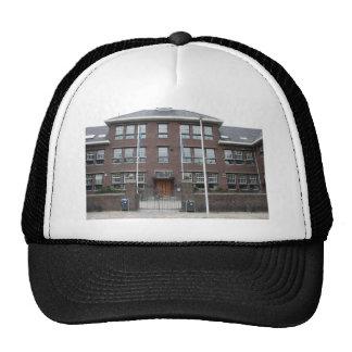 Former grammar school mesh hat