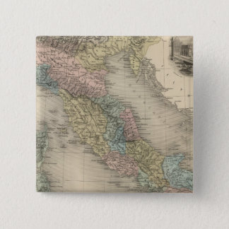 Former Italy 15 Cm Square Badge