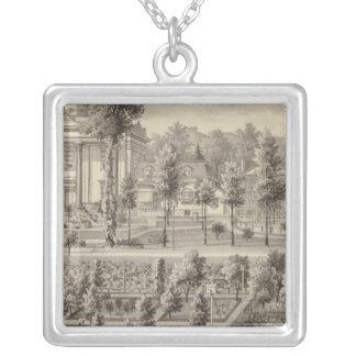 Former residence of JFD Lanier Silver Plated Necklace
