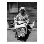 Former Slave Portrait, 1930s Postcards