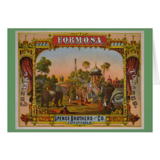 Formosa Chewing Tobacco Greeting Card