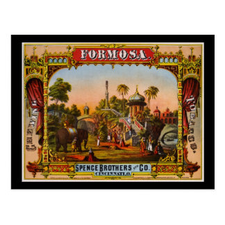 Formosa chewing tobacco postcard