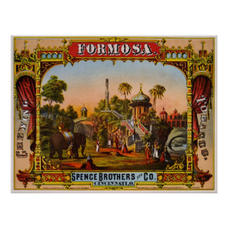 Formosa chewing tobacco poster