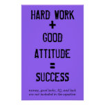 Formula for Success Poster