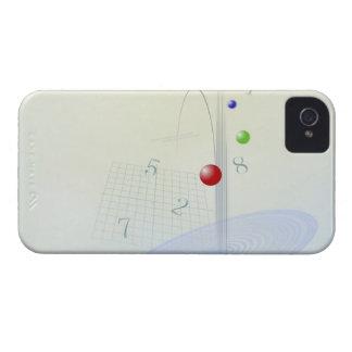 Formula, graph, math symbols 10 iPhone 4 cover